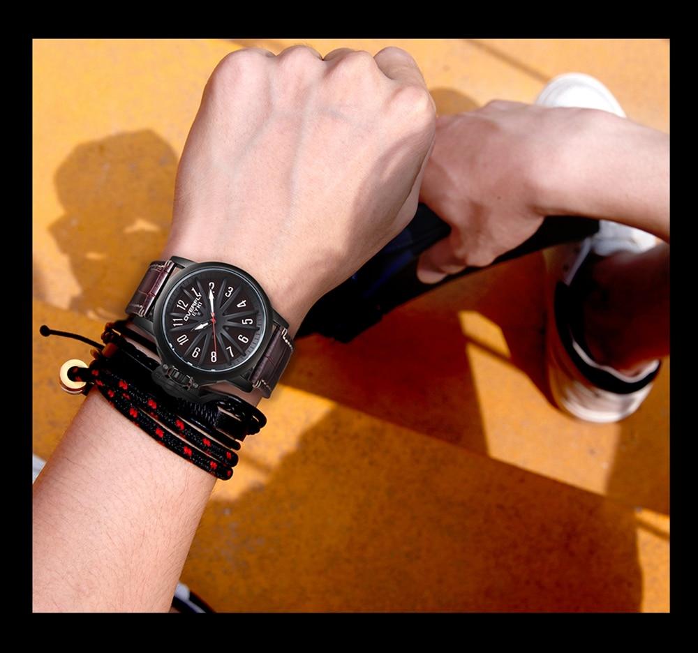 Relógios De Luxo Homens Moda Casual Esporte