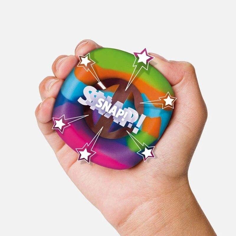 Anti-Stress poignée de doigt soulagement du Stress jouets Fidget jouets adulte enfant Simple fossette jouets Anti-Stress décompression Dropshipping 1