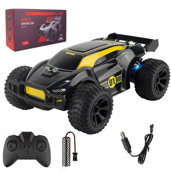 JJRC-Q88 4WD RC Car 1:22 15km/h High-speed Racing 2.4G Off-road Outdoor Remote Control Car Climbing Car Children Toy With Light 1