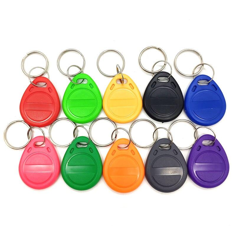 1pcs EM4100 RFID Keychain Card Tag Key 125khz ID Keyfob TK4100 Llaveros Llavero Porta Chave Access Control Time Attendance