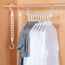 Hanger Wardrobe Rotating-Clothes Home-Organizer Magic Multi-Function 9-Hole