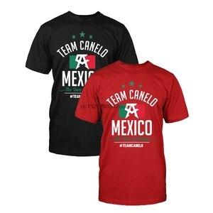 Officially Licenced Canelo Alvarez Team Flag T Shirt Goldenboy Boxingggg(China)