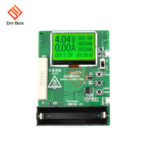 18650 LED Màn Hình LCD Kỹ Thuật Số Ống Màn Hình Hiển Thị Dung Lượng Pin Lithium Bút Thử Chỉ Báo Module Pin Bút Thử Điện Hiển Thị Bảng DIY