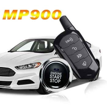 Accesorios de coche alarma de coche para ford arranque remoto y señalización de entrada sin llave autoarranque bloqueo central piezas de coche boton inicio parada