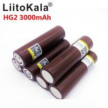9 pz/lotto LiitoKala lii 30A HG2 18650 3000mah batterie Ricaricabili ad alta potenza di scarico, 30A grande corrente