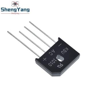 Image 3 - 5PCS/LOT KBU1010 KBU 1010 10A 1000V ZIP Diode Bridge Rectifier diode New