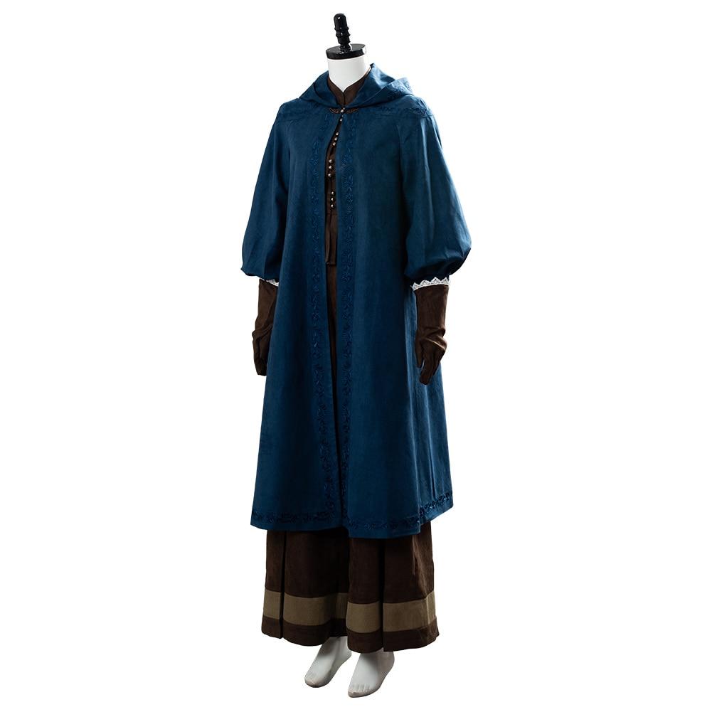 Image 3 - Cirilla Fiona Elen Riannon Costume Ciri Cosplay Dress Full Outfit Halloween Carnival CostumesMovie & TV costumes   -