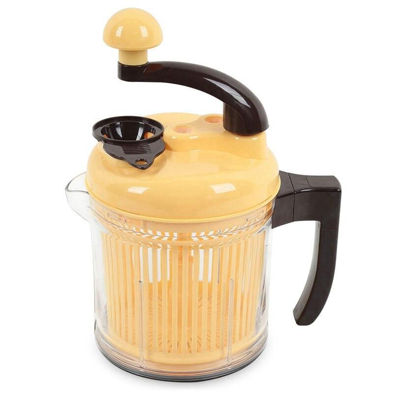 Ev Aletleri'ten Kıyma Makineleri'de Çok fonksiyonlu mutfak mutfak robotu ev kıyma makinesi sebze kesicisi hızlı parçalayıcı kıyma title=