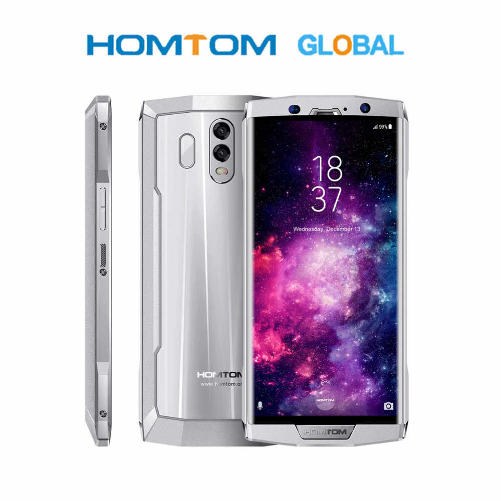 HOMTOM HT70 4G Smartphone 6.0 inch Android 7.0 MTK6750T Octa Core 1.5GHz 4GB RAM 64GB ROM Dual Rear Cameras Big Battery10000mAh