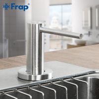 Frap 500ml Deck Mounted Sink Detergent Soap Dispenser 304 Stainless Steel Liquid Soap ABS Bottle Hand Soap Dispenser Pump Y35001