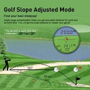 Image 4 - Mileseey PF210 600メートルydゴルフレーザー距離計ミニゴルフ距離計スポーツレーザー測定距離計ゴルフ距離計ハント