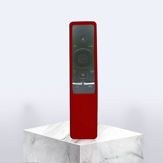 Schutzhülle Weiche Silikon Haut Fall für Samsung Smart TV Fernbedienung Kit Q39D