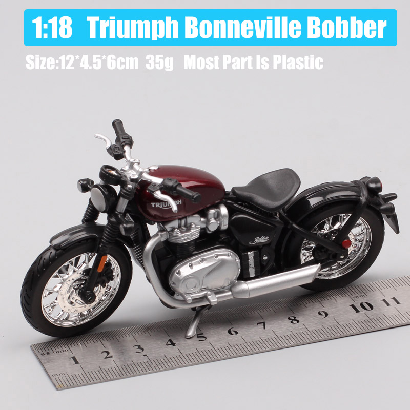 Bburago 1:18 Triumph Bonneville Bobber
