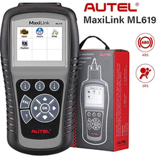Autel MaxiLink ML619 KÖNNEN OBD2 Scanner ABS SRS AirBag Automotive Auto Diagnose Werkzeug EOBD OBDII Code Reader PK AL619 AL319
