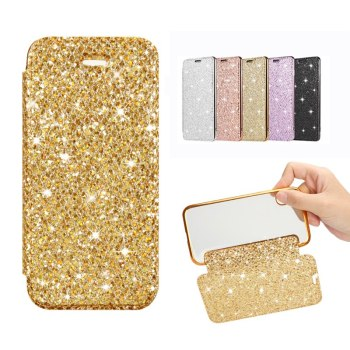 Slim Leather Case for iPhone X 8 7 6 6S Plus 5 5S SE Case for XS Max XR Clear Back Soft TPU Flip Wallet Phone Case Capa Coque 1