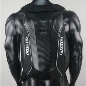 For OGIO Mach 5 Carbon fiber Hard shell backpacks Knight Backpack Waterproof Motocross backpack computer bag