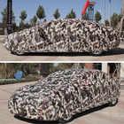 Bâche de voiture d'hiver imperméable épaississement neige couverture universelle voiture verre couverture extérieure anti pluie soleil ombre étui pour voiture - 5