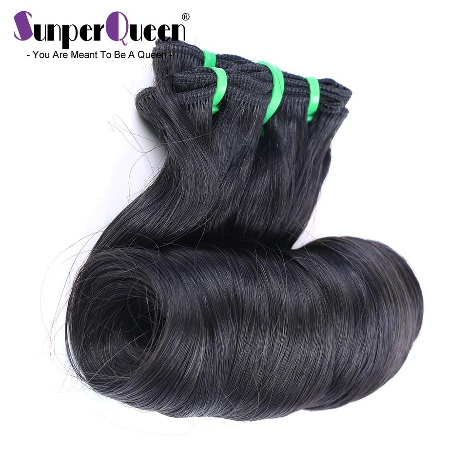 Бразильские волосы, плетеные пучки, яйца, вьющиеся, двойное натяжение, 12 А, Funmi, необработанные натуральные волосы H, естественный цвет