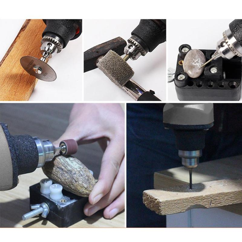 Variable Speed Electric Drill With Accessories Electric Grinder Polishing Multifunctional Electrical Special Purpose Tool Parts