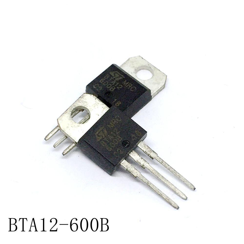10pcs BTA12-600SW BTA12-600SWRG BTA12 600SW TRIAC ST TO-220
