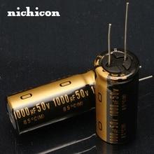 2pcs Free shipping NICHICON KZ audio capacitor 1000u / 50v 1000UF