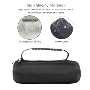 Image 3 - Hard Eva Shockproof Reizen Carry Kolom Case Cover Pouch Voor Jbl Flip 5 Flip5 Draadloze Bluetooth Speaker Met Riem Extra ruimte