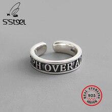 S'STEEL 925 Sterling Silver Rings For Women Prata Ring Anillos Plata Para Mujer Bague Femme Argent Zilveren Ringen Fine Jewelry