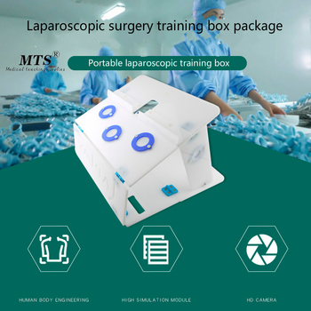 Laparoscopic Surgery Training Box Package Simulated Surgical Equipment Instrument Trainer Surgical Instrument biomedical instrument and robotic surgery system