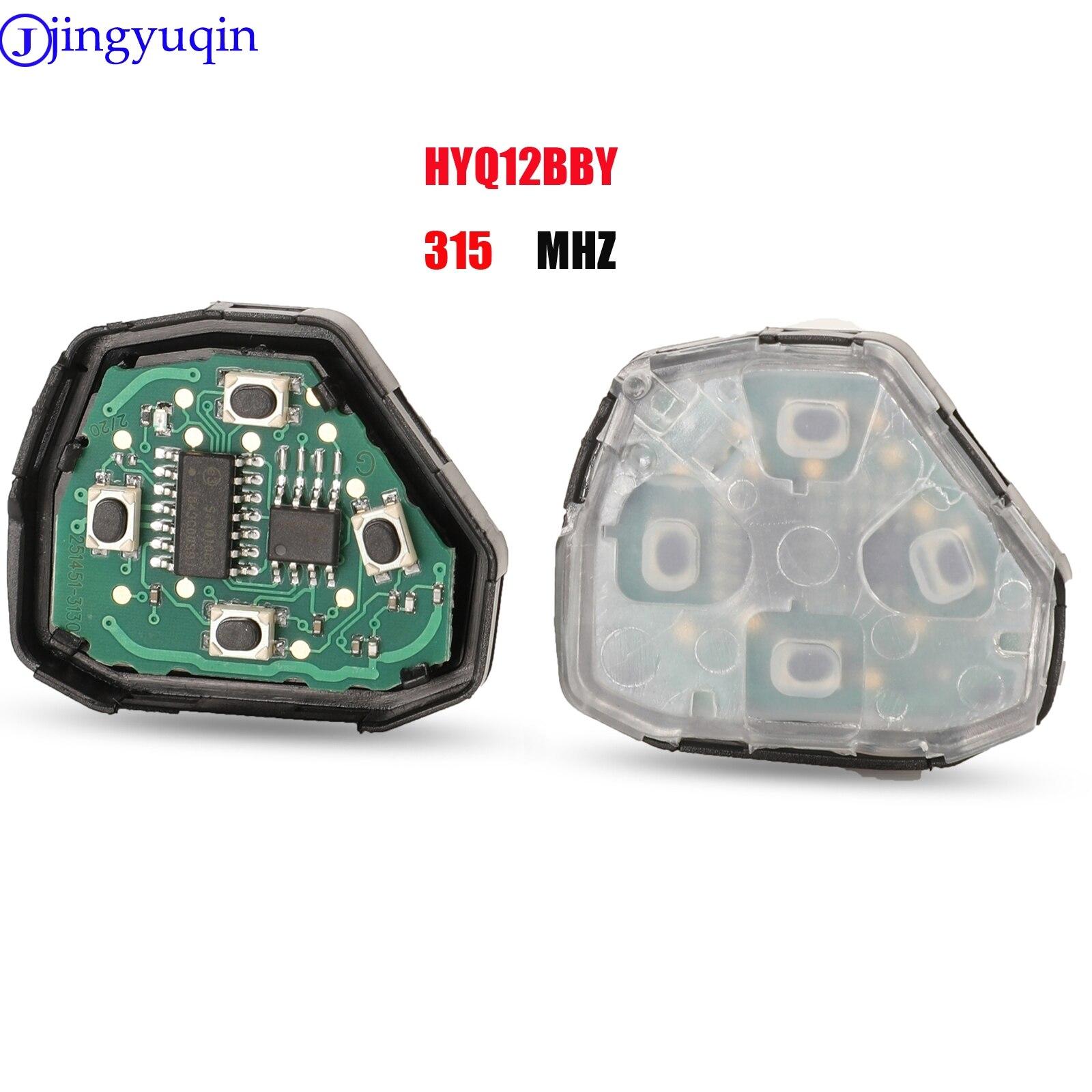 Jingyuqin – clé télécommande à assembler, noyau interne interne, 315/433MHz, pour Toyota Camry Corolla Prado RAV4 Vios Hilux Yaris