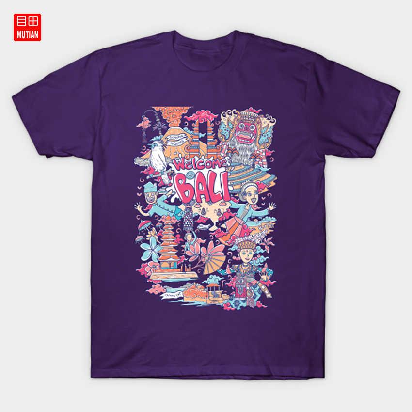 Willkommen zu bali indonesien T-Shirt Indonesien Blume Bali Insel Dance Floral Tier Tänzerin Vogel Barong Tropical