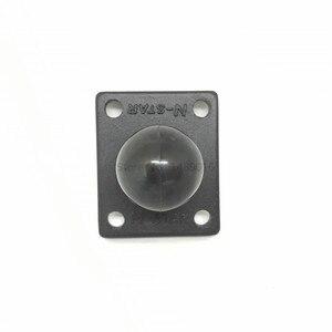 Image 2 - Socle de montage carré en aluminium pour caoutchouc 1 pouce Compatible avec les supports Ram pour appareil photo Gorpo DSLR pour Garmin
