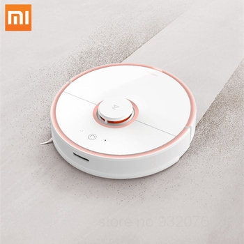 Фото - 2019 Roborock S50 Xiaomi MI Robot Vacuum Cleaner 2 for Home Automatic Sweeping Dust Sterilize Smart Planned Washing Mopping xiaomi mijia 1s mi robot vacuum cleaner for home automatic sweeping charge smart wifi app remote control dust sterilize rc cleaner