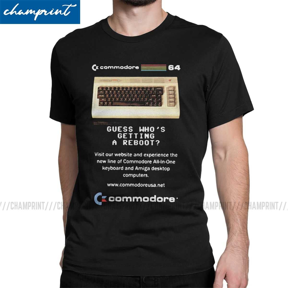 Commodore retro computer t shirt vintage videospiel unisex classik game nerd