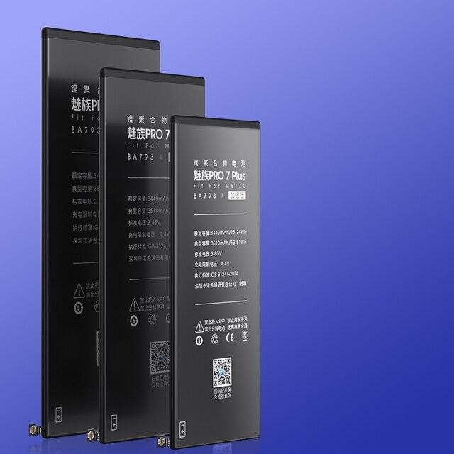 NOHON Batterie Pour Meizu Pro7 6 Plus Pro 6 5 MX4 MX5 MX6 MX7 Pro Plus BA793 BT66 BT53 BT65M BT51 BT41 BT40 Remplacement Bateria