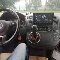 Android Car DVD Player GPS Navi untuk Volkswagen VW T5 Multivan Transporter dengan Wifi Bt DVR Radio Camera 2008-2013 2014 2015