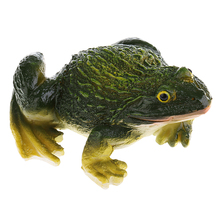 1 Collectible Frog Figurine Resin Crafts for Home Garden Doll House DIY Accs
