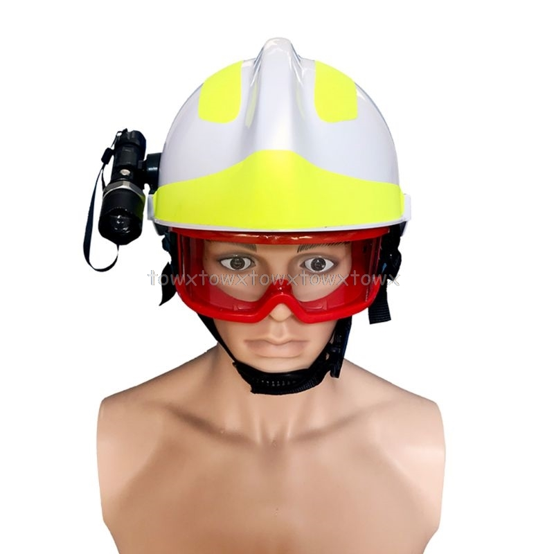 Rescue Helmet Firefighter Helmt Protective Safety Cap Fire Hat For Earthquake O18 19 Dropship