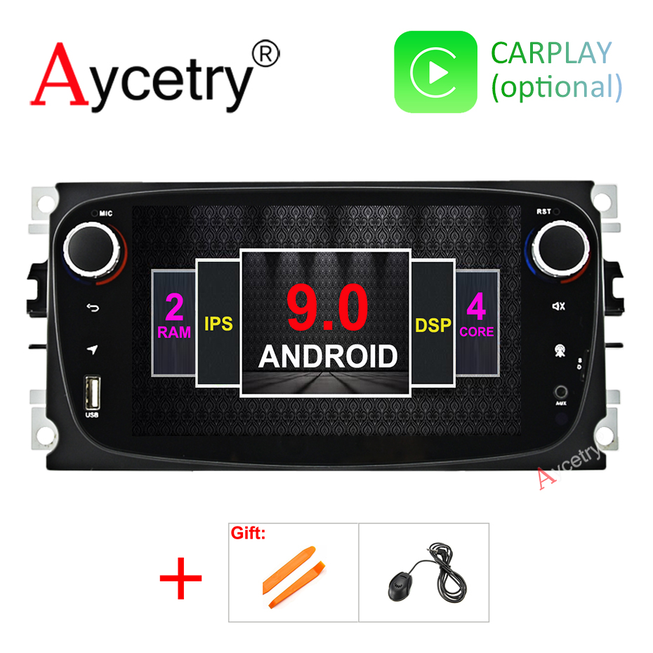Car Multimedia Player 2 Din Android 9 0 GPS autoradio no dvd player for FORD Focus