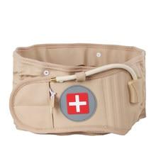 Voltar apoio cinto de descompressão cinto de cintura volta massageador alívio da dor lombar inflável tração cinto de apoio da cintura de ar cinta