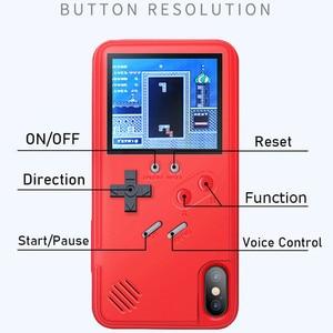 Image 5 - S20 Ultra S10 Note 10 Plus Gameboy Coque rétro 3D avec 36 petit jeu pour Samsung Galaxy S20 S10 Note 10 + S20 Pro Coque Phonecase