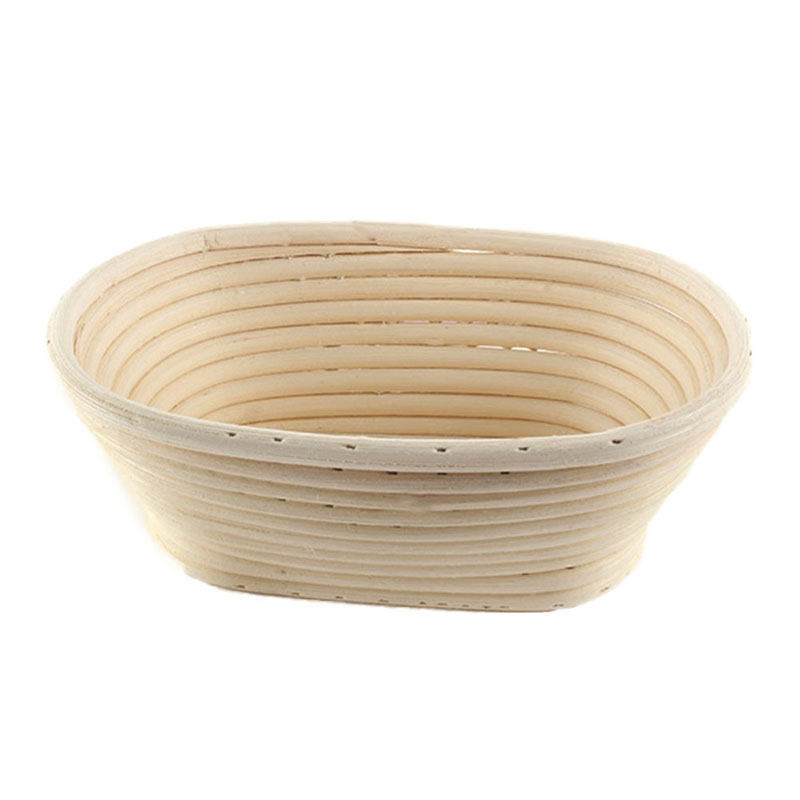 28cm Brotform Banneton Rattan Basket Oval Bread Long Dough Proofing Loaf Proving Basket Mold Home Baking Pastry Tools Bakeware