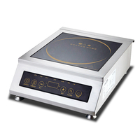 Commercial Induction Cooker 5000W High Power Induction Cooker Kitchen Cooking Appliance Restaurant Soup Plane Stove Good Quality