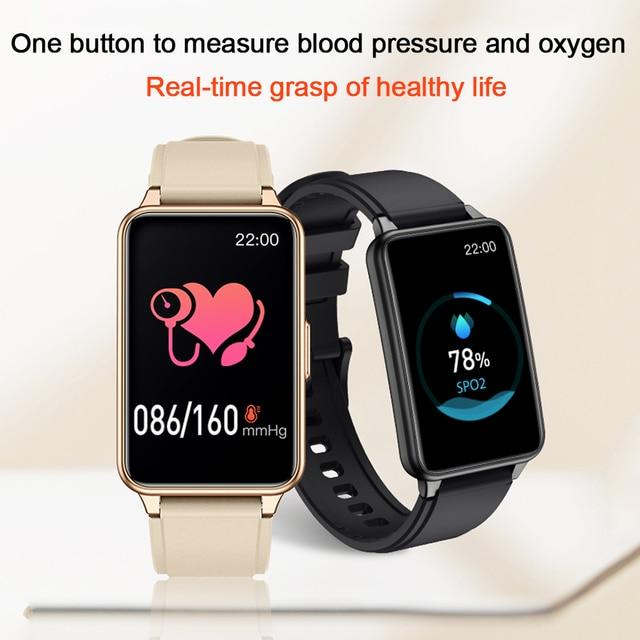 2021 Smart Watch Men 1.57inch Full Touch Heart rate Monitor Sport Fitness IP67 Waterproof Bluetooth Answer Call Smartwatch Women 3