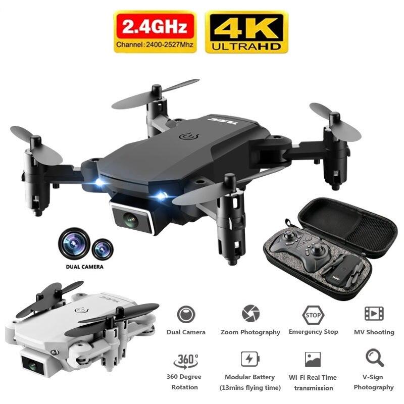 2020 Mini S66  Drone 4K HD Camera WiFi Fpv Air Pressure Altitude Maintenance 15 Min Battery Life Foldable Quadcopter Gift