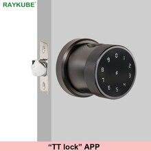 TT lock APP Fingerprint Door Lock Digital Keyboard Smart Card Combinat