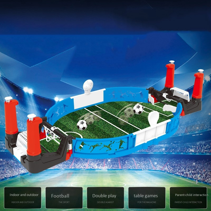 Finger Soccer Table Game Table Children's Competitive Soccer Toys Two-Player Puzzle Board Game