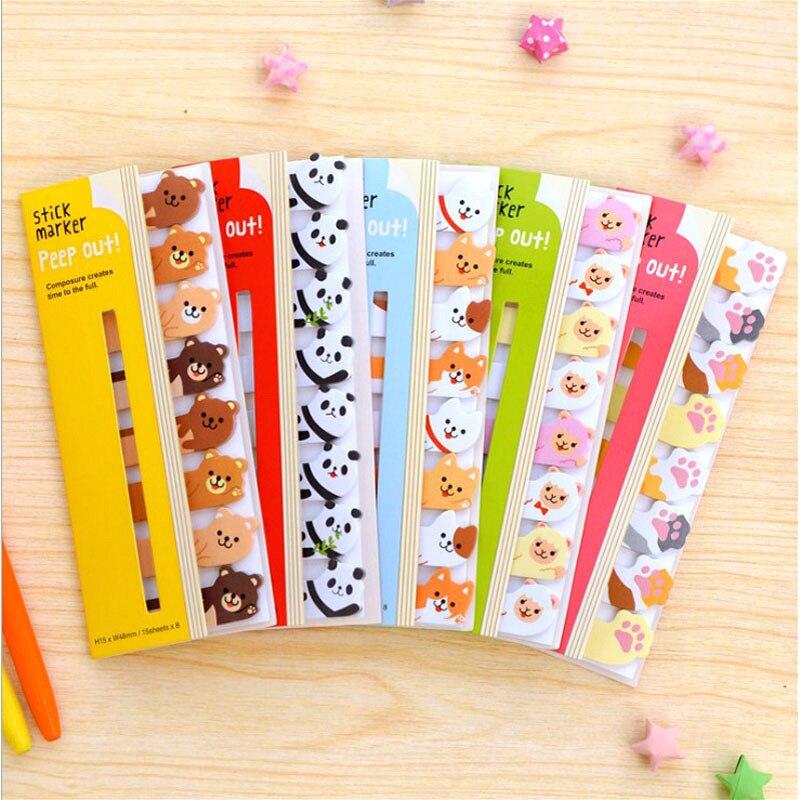 Симпатичные Мультяшные блокноты для записей Мультяшные животные музыкальные бумажные блокноты для записей для девочек школьные канцелярс...