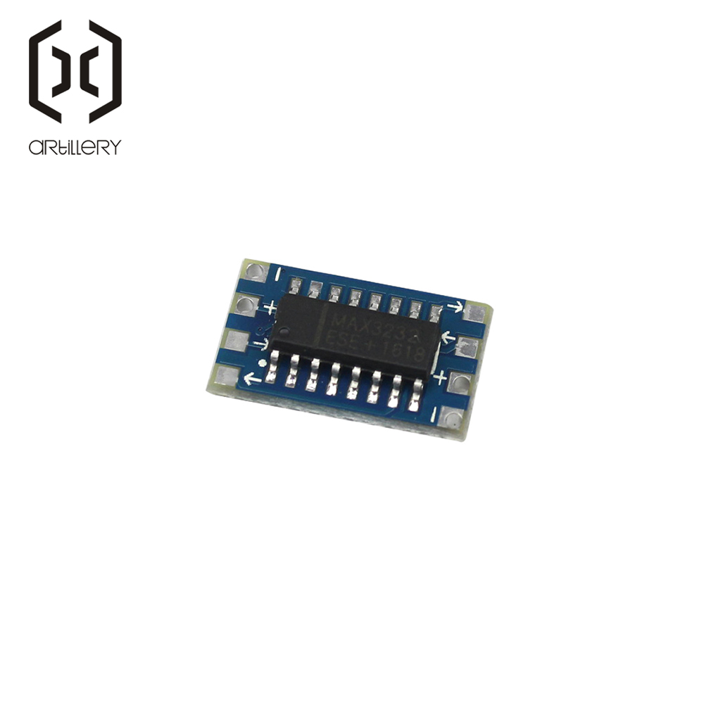 MCU Mini RS232 to TTL Converter Adapter Board Module MAX3232 3-5 V Electronic Parts Development Serial Port for arduino DIY KIT