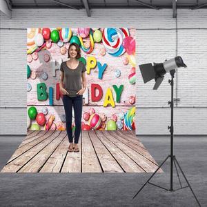 Image 4 - 0.9x1.5Mการถ่ายภาพศิลปะผ้าฉากหลังHappy Birthday Photoฉากหลังสตูดิโอถ่ายภาพPropเด็กครอบครัวตกแต่งHOT