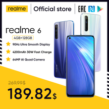 Realme Helio G90T 128GB 4gbb WCDMA/GSM/LTE NFC Supercharge/vooc Bluetooth 5.0/Gorilla glass/5g wi-fi